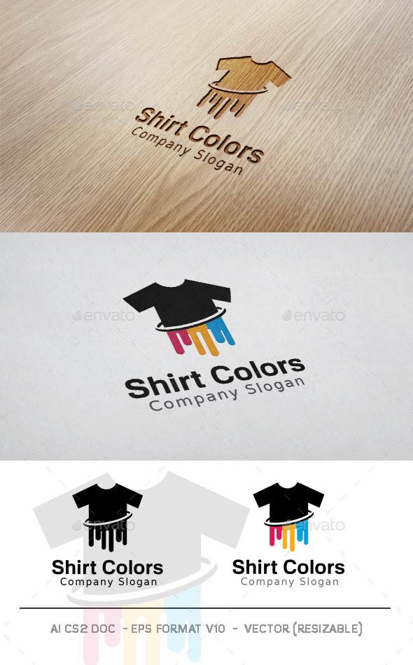 GraphicRiver Shirt Colors Logo 11352887