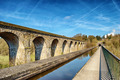 Perspective view of Chirk viaduct and aquaduct. - PhotoDune Item for Sale