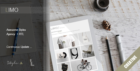 ThemeForest Limo Creative Portfolio Template 11180354