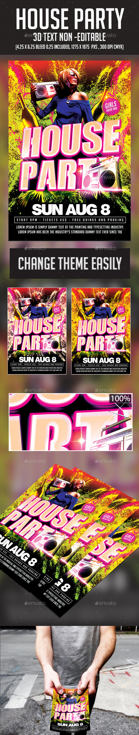GraphicRiver House Party 11294377