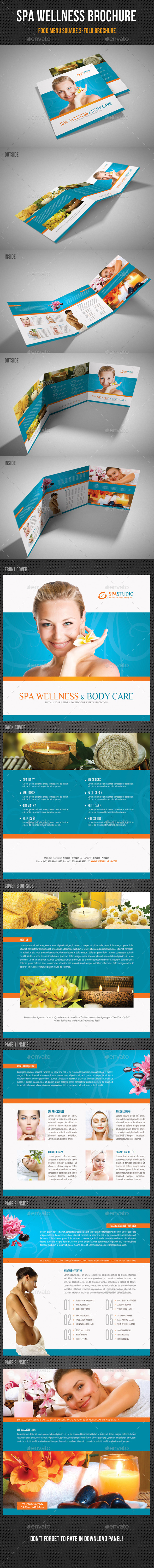 GraphicRiver Spa Wellness Square 3-Fold Brochure 01 11353416