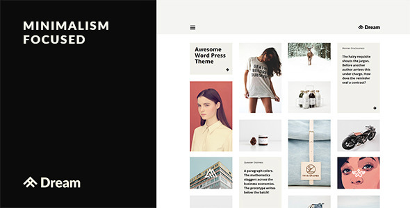 Dream - Business, Blog & Portfolio Theme