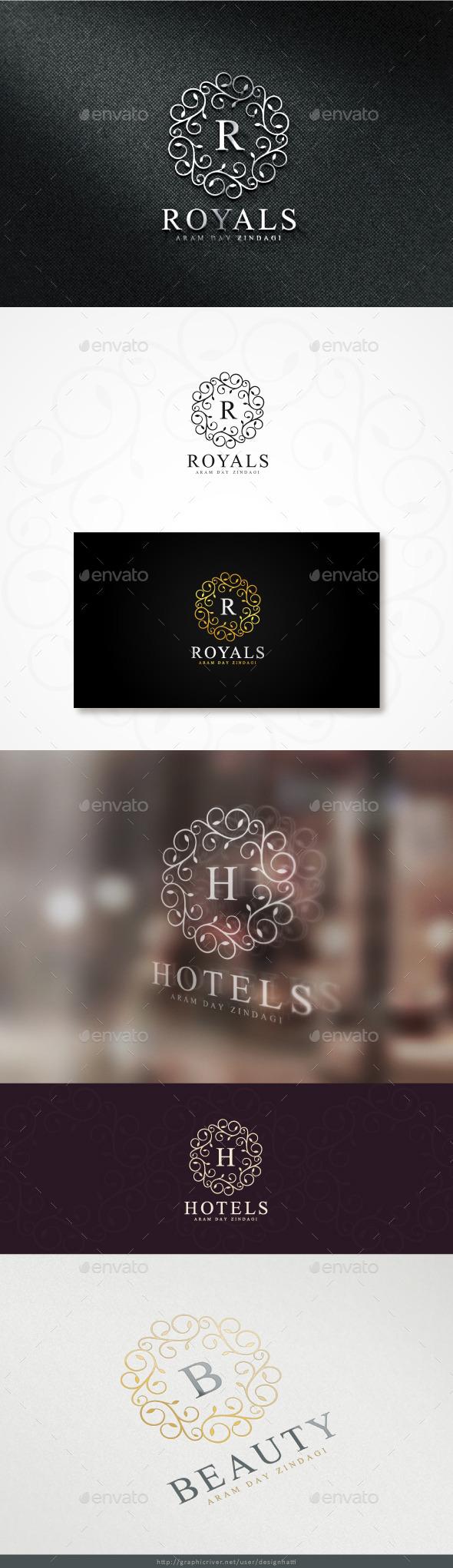 GraphicRiver Royals Logo 11353795