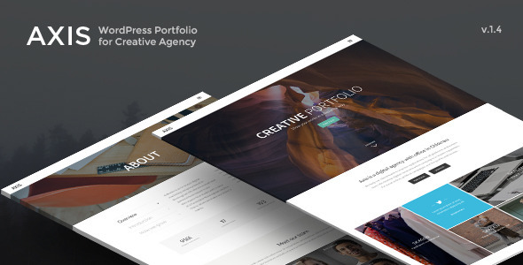 Axis - WordPress Portfolio for Creative Agency