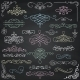 Vector Chalk Drawing Vintage Hand Drawn Swirls - GraphicRiver Item for Sale