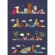 Collection Of Various Shoes. Four Seasons - GraphicRiver Item for Sale