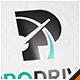Pro Drive Car Letter P Logo - GraphicRiver Item for Sale