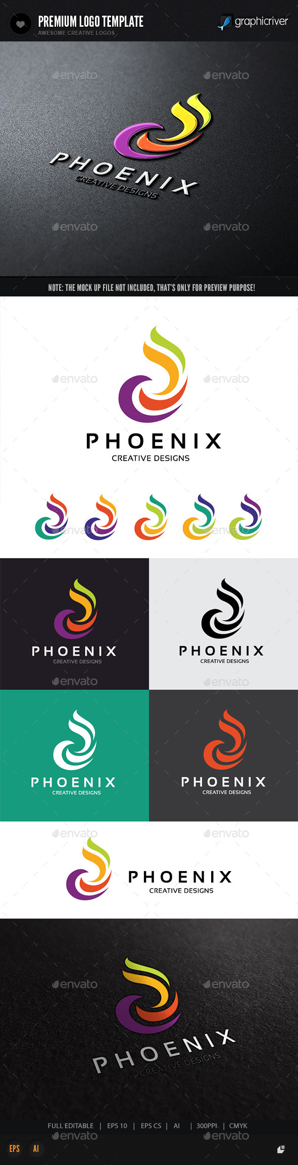 GraphicRiver Phoenix Design 11354746