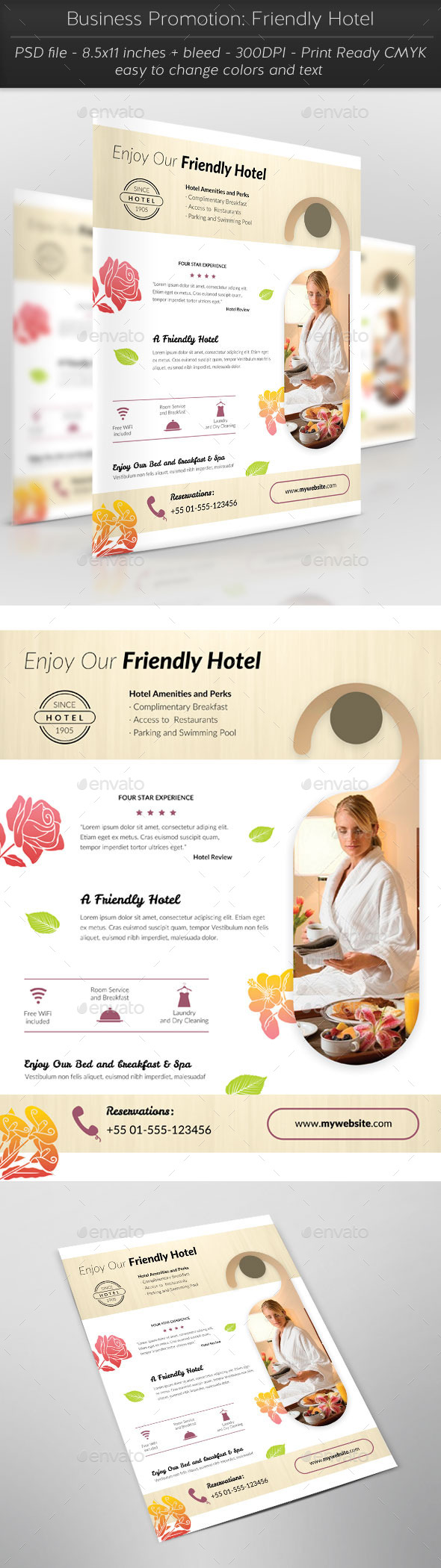 GraphicRiver Business Promotion Friendly Hotel 11354762