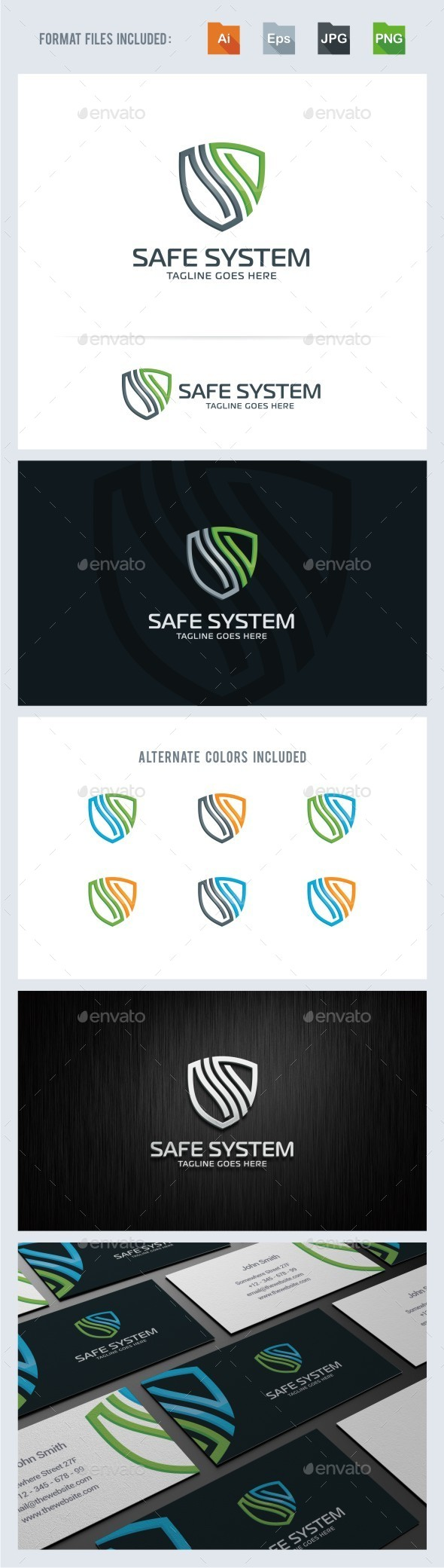 GraphicRiver S Letter Security Logo Template 11355051