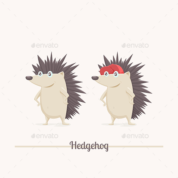 GraphicRiver Hedgehog 11355548
