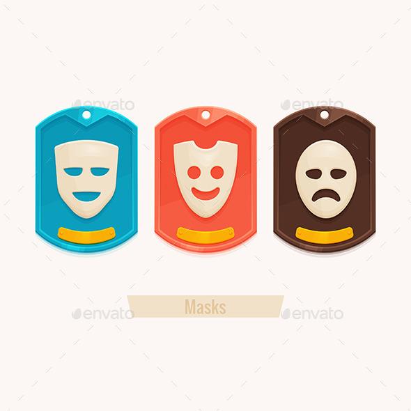 GraphicRiver Set Masks 11355554