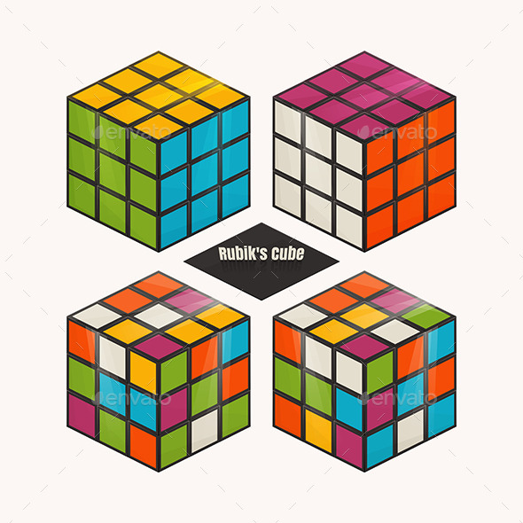 GraphicRiver Rubiks Cube 11355574