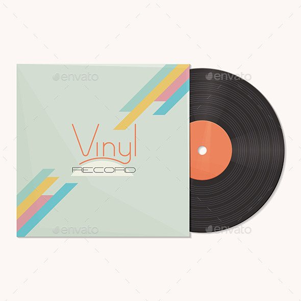 GraphicRiver Vinyl Record 11355579