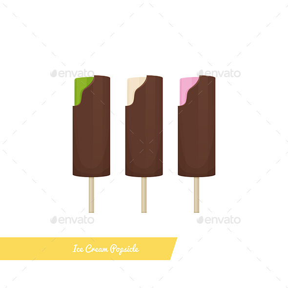 GraphicRiver Ice Cream Popsicle 11355605