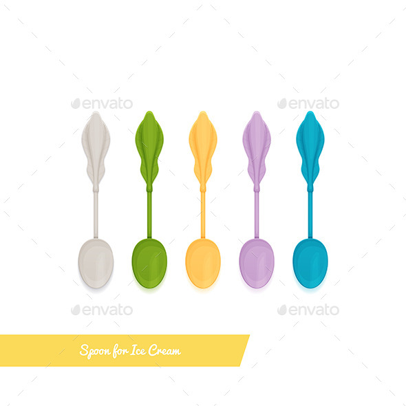GraphicRiver Spoon for Ice Cream 11355614