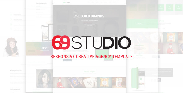 69Studio HTML5 Responsive Agency Template (Business) Download