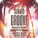 Summer Groove Flyer - GraphicRiver Item for Sale