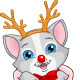 Christmas Kitten - GraphicRiver Item for Sale