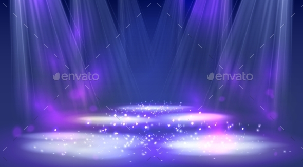 GraphicRiver Stage Spotlights 11356010