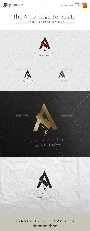 GraphicRiver The Artist Logo Template 11356402
