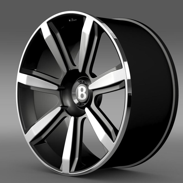 Bentley Continental GT rim2 - 3DOcean Item for Sale