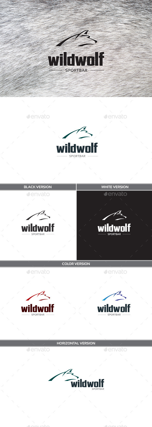 GraphicRiver Wildwolf 11356522