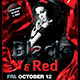 Black and Red Party Flyer Poster Template V2 - GraphicRiver Item for Sale