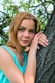 Portrait of a young sensual blonde outdoors  - PhotoDune Item for Sale