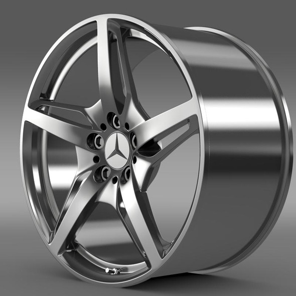 Mercedes Benz AMG GT S rim - 3DOcean Item for Sale