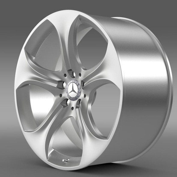 Mercedes Benz S 400 hybrid rim - 3DOcean Item for Sale