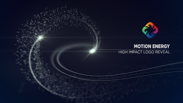 Motion Particle Energy Logo Reveal