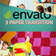 5 Paper Transition - VideoHive Item for Sale