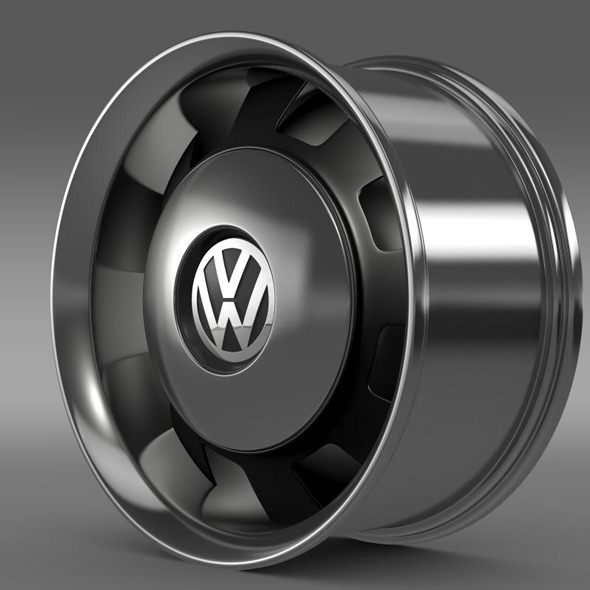 VW Beetle Classic rim - 3DOcean Item for Sale