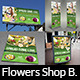 Flowers Shop Service Advertising Bundle - GraphicRiver Item for Sale