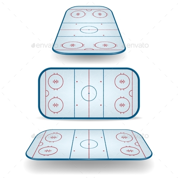 GraphicRiver Set of Ice Hockey Fields 11357561