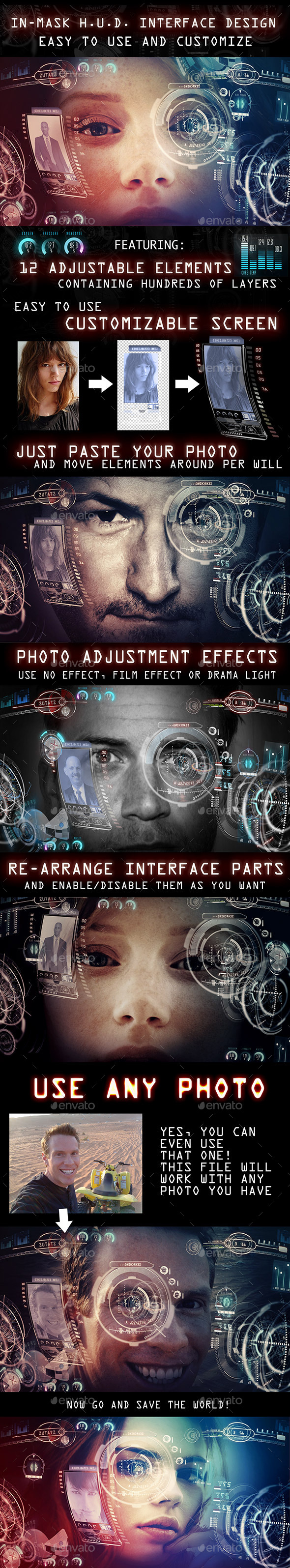 GraphicRiver In Mask H.U.D Interface design 11357567