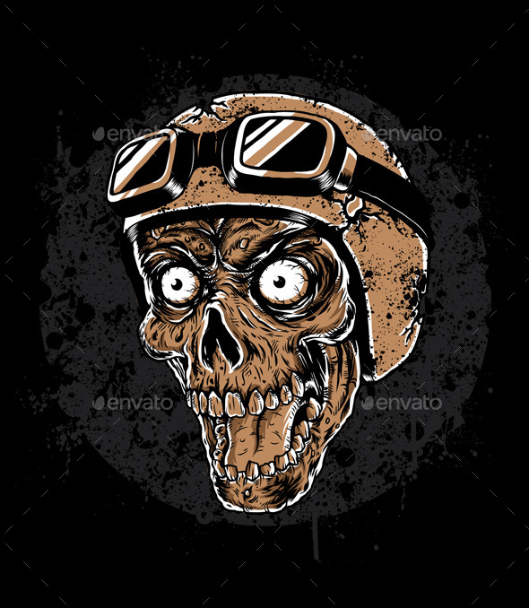 GraphicRiver Zombie Head Rider 11357676