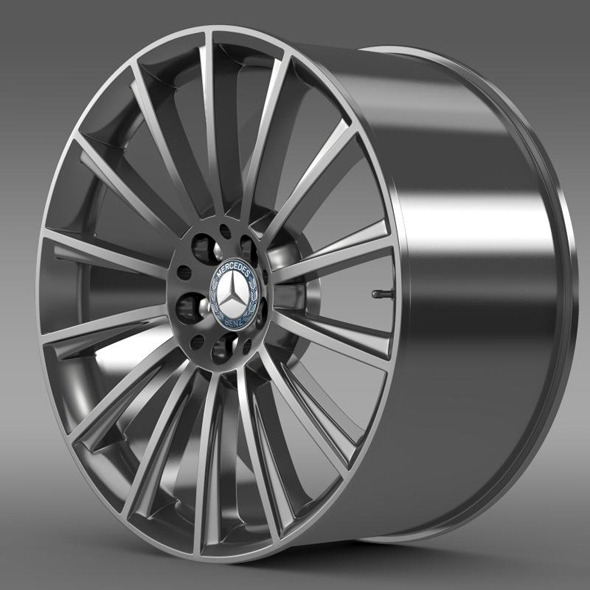 AMG Mercedes Benz S 350 rim - 3DOcean Item for Sale