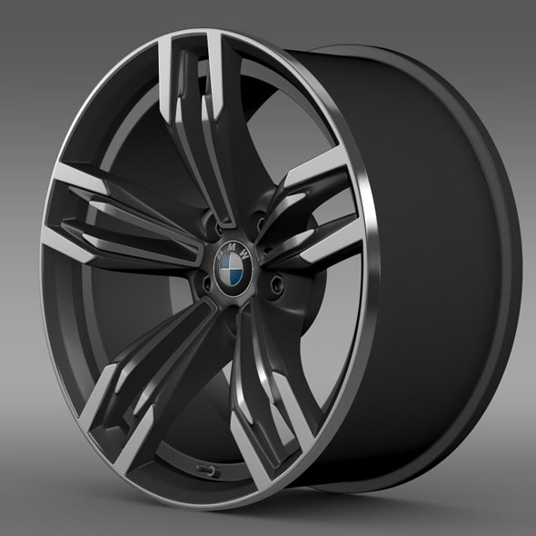 BMW M6 Gran Coupe rim - 3DOcean Item for Sale