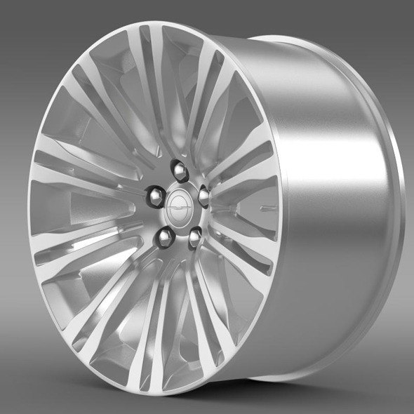 3DOcean Chrysler 300C 2012 rim 11357759
