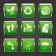 Ecology and Recycle Web Buttons - GraphicRiver Item for Sale