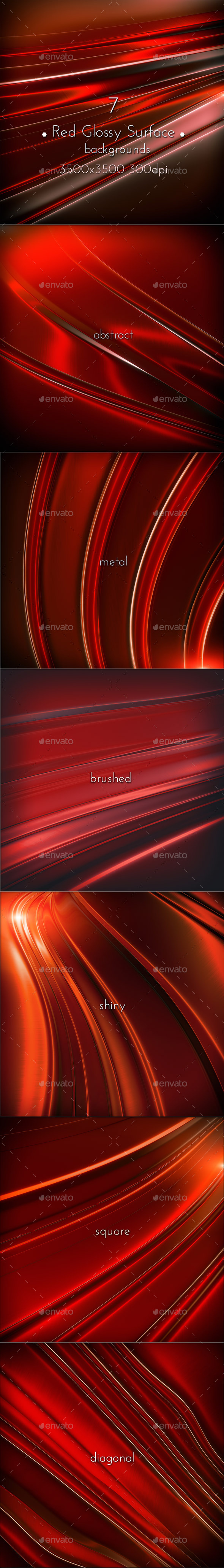 GraphicRiver Red Glossy Surface 11357776