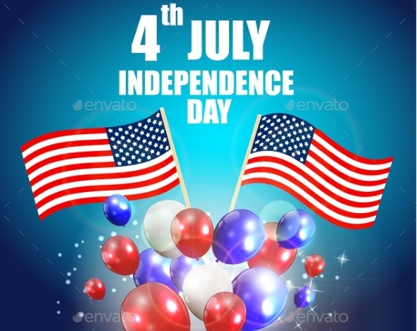 GraphicRiver Independence Day Poster Vector Illustration 11357936