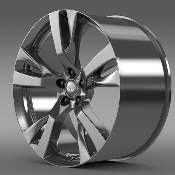 Infiniti Q70 rim - 3DOcean Item for Sale