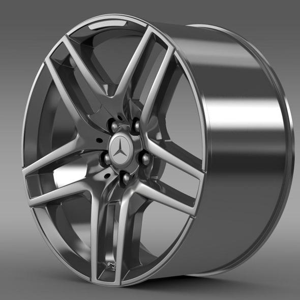 3DOcean Mercedes Benz S 500 AMG rim 11358077