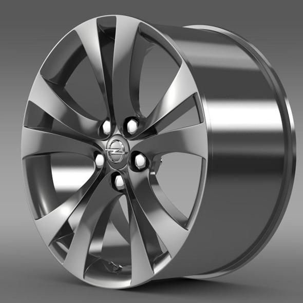 3DOcean Opel Insignia rim 11358124