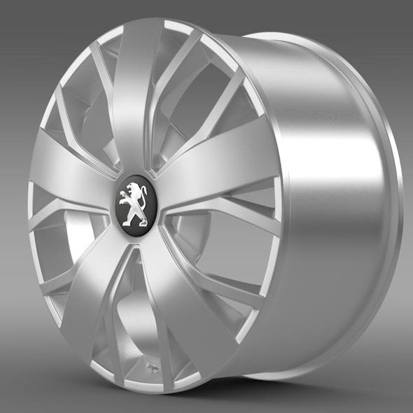 3DOcean Peugeot Boxer rim 11358188