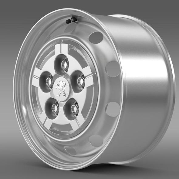 Peugeot Boxer Van rim - 3DOcean Item for Sale