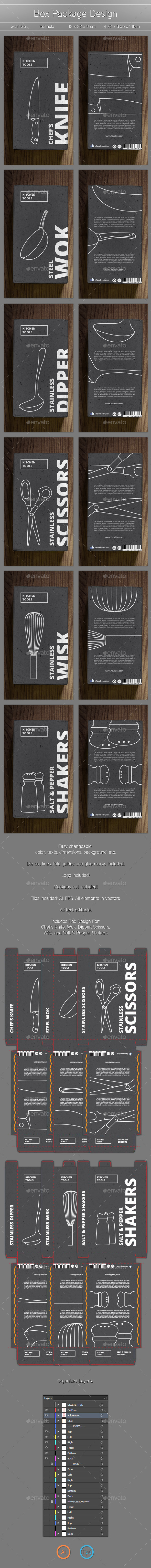 GraphicRiver Product Box Design 11358337